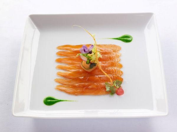 Cured King salmon