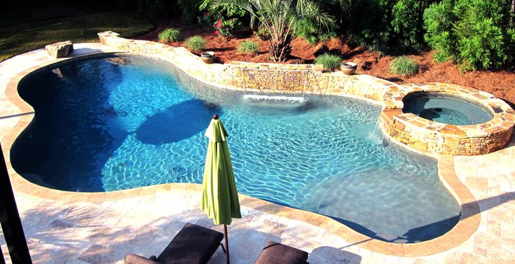 1000 Images About Gunite Pool Design On Pinterest