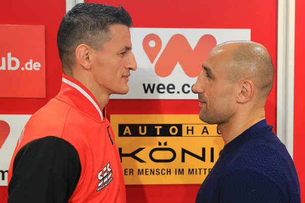 FOLLOW AND SHARE Robin Krasniqi vs. Arthur Abraham Press Conference quotes & picture  Airing live this Saturday in North America Robin Krasniqi vs. Arthur Abraham Press Conference Quotes & Photos From Germany TENAFLY, N.J.(April 19, 2017) – SES Promotions held the final press conference for this Saturday's World Boxing Organization (WBO) Super Middleweight title …