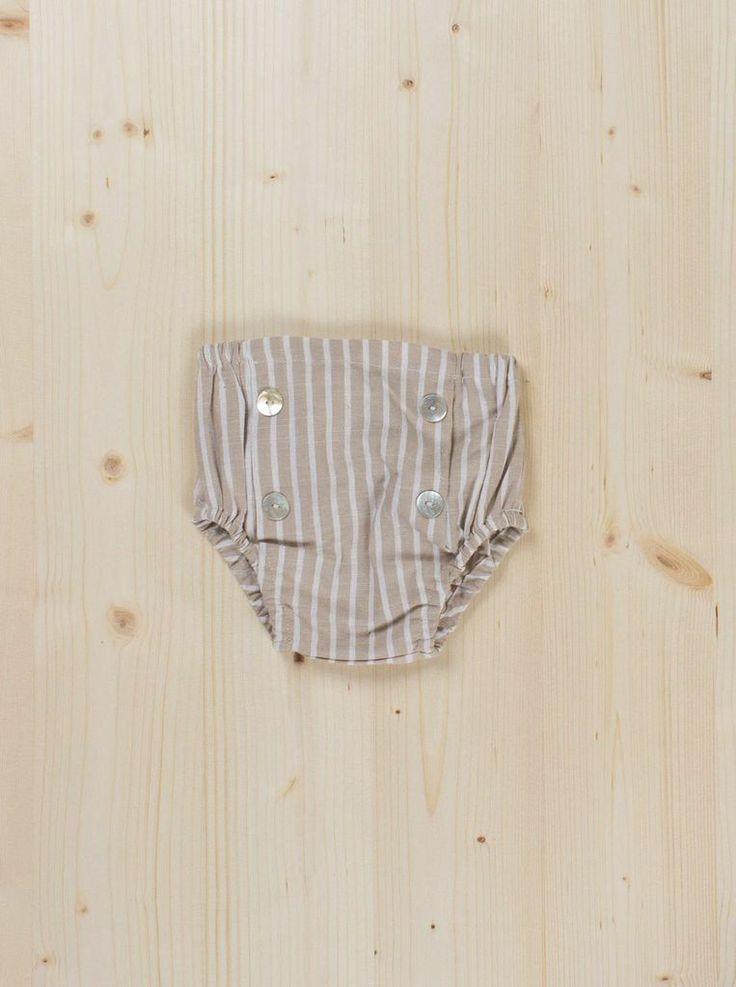 Stripes Culotte - Dots + Knots