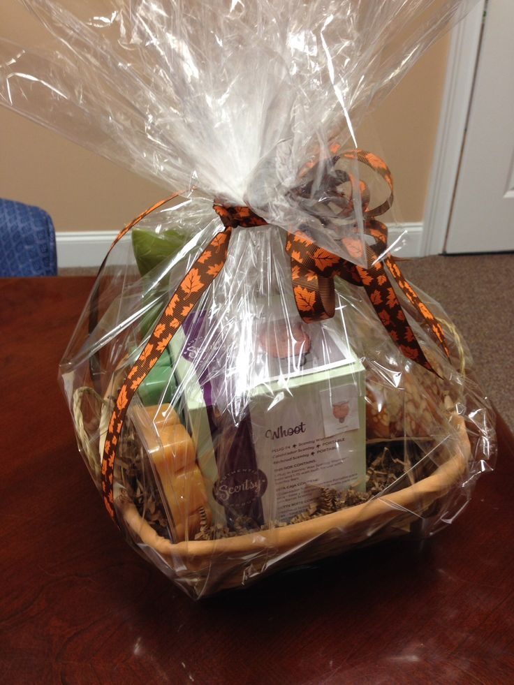 Gift Basket Ideas Fall Theme With Whoot Scentsy