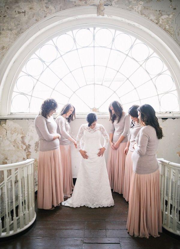 Best 25 Winter Bridesmaids Ideas On Pinterest