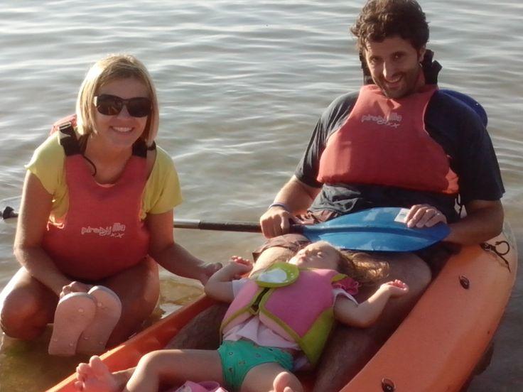 Excursiones en kayak para toda la familia.