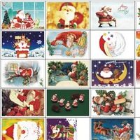 Christmas Rhapsody theme paragraph Packed postcards Greeting Cards creative postcards drawer card 30 pcs/set Free Shipping