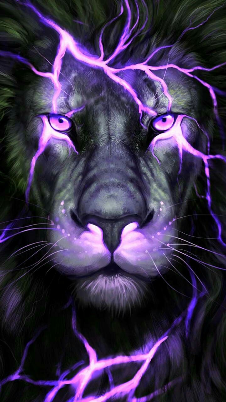 Lightning Cool Tiger Wallpapers