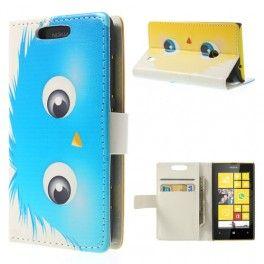 Lumia 520 pörröpeikko lompakkokotelo.
