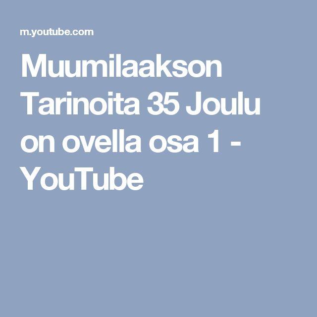 Muumilaakson Tarinoita 35 Joulu on ovella osa 1 - YouTube