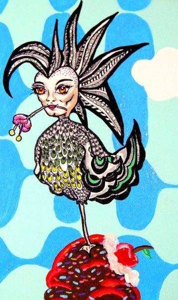 summer love/peacocking, via Flickr.