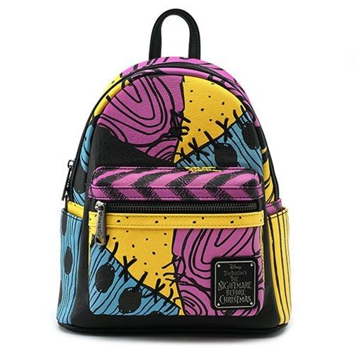fe52c2022fb Make everyday a Nightmare Before Christmas! This Nightmare Before Christmas  Sally Costume Mini Backpack is made of faux leather with printed details.