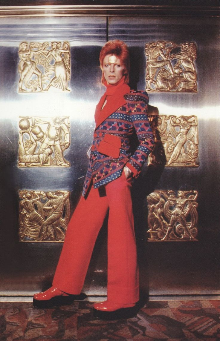 Bowie - is this shot inside Biba?