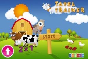Wat leert mijn kind van deze educatieve app:  Tafels