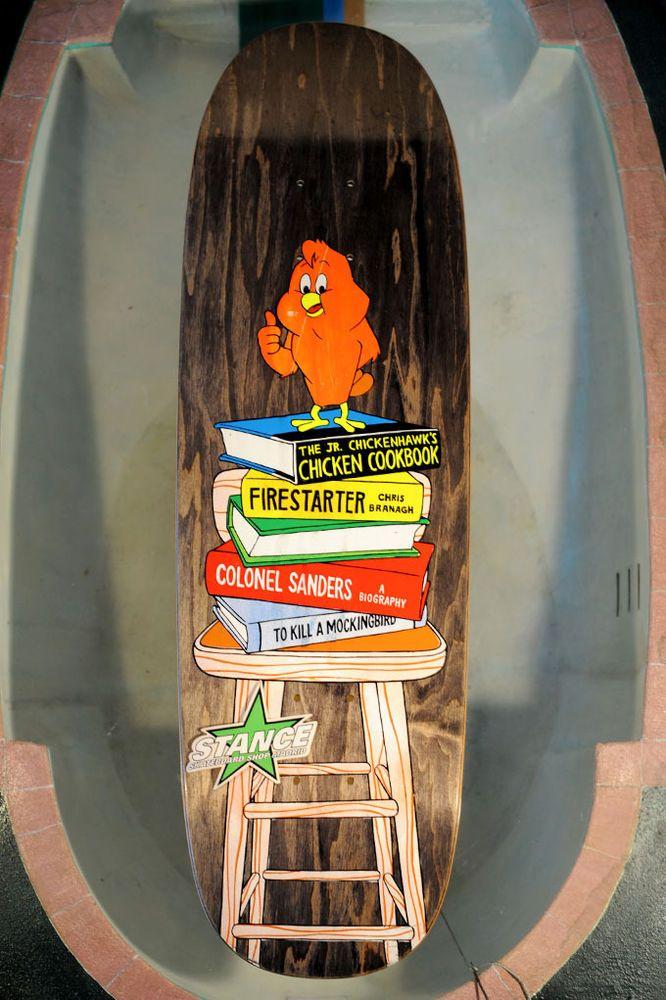 NOS World Industries Skateboard Deck, Chris Branagh Looney Toons Series - Chicke #WorldIndustries