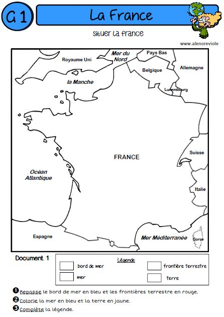 GEOGRAPHY- PERFECT FOR ALL STUDENTS :) Then have them make physical maps -LA FRANCE