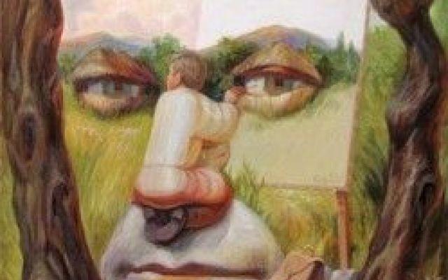 Il pittore illusionista:Oleg Shuplyak Oleg Shuplyak pittore ucraino nato il 23 settembre del 1967, nella regione di Ternopol, in Ucraina è considerato uno dei migliori pittori illusionisti al mondo.Riesce infatti a nascondere i più grand #olegshuplyaki