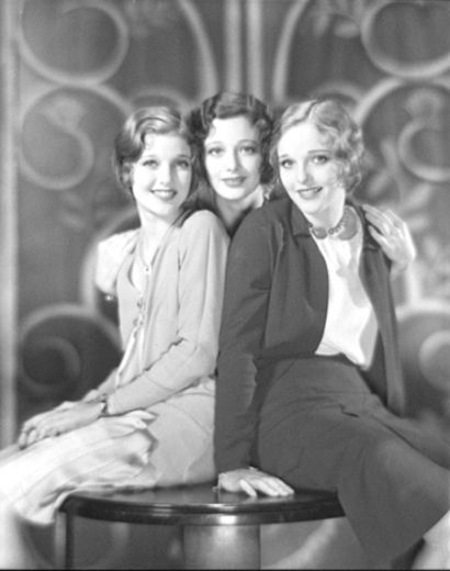Acting sisters: Loretta, Polly Ann and Elizabeth Young (Sally Blane)