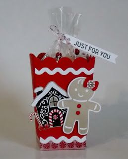 Laura's Works of Heart: CANDY CANE LANE POPCORN BOX: