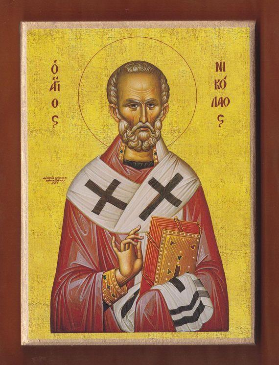 St Nicholas the Wonderworker and Archbishop of Myra in