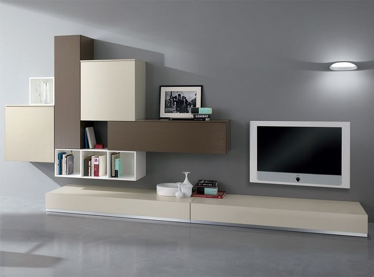 Modern Wall Unit Exential Y21 by Spar - $5,599.00