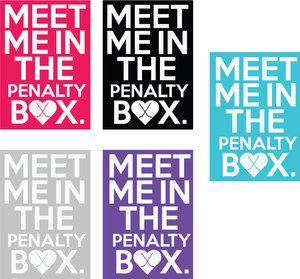 Image of Penalty Box Women's V Necks