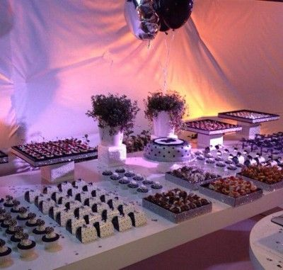 Wedding Dessert Table <3 See More Cute Dessert Table Ideas at www.CarlasCakesOnline.com