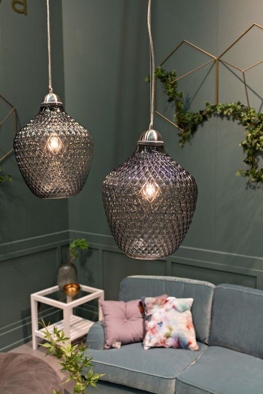 Avon Pendant Lights Grey