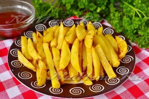 Картошка фри  в духовке, как в Макдольнадсе