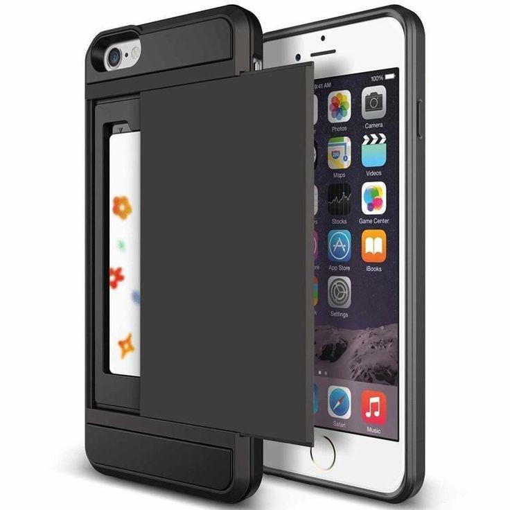 Card Holder Case For Apple iphone 5 5S SE 6 6S 7 8