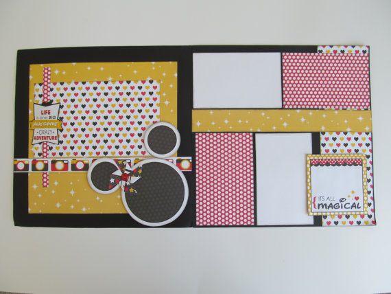 C'est magique tout plan de Scrapbook de 12 x 12 par blessedbydesign