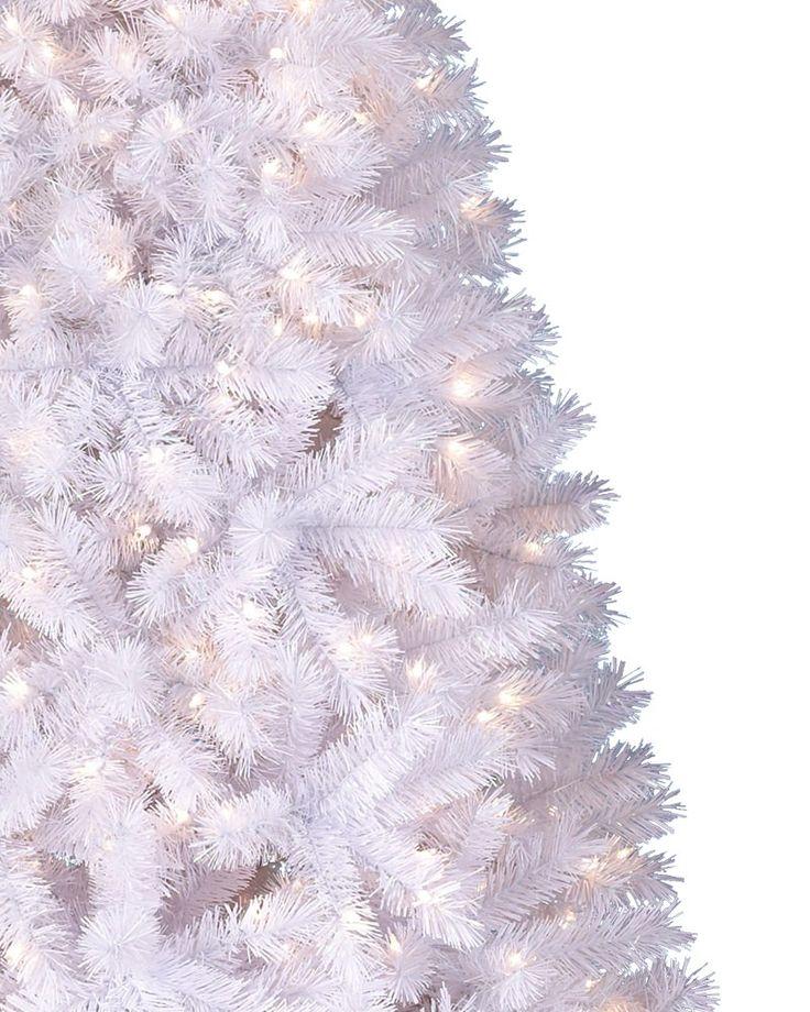winter white christmas tree - Fake White Christmas Tree