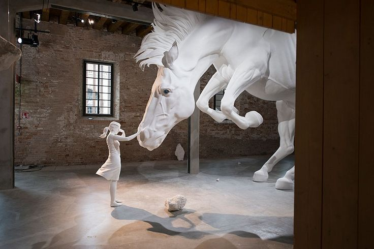 At the 57th La Biennale of Venice, Argentinian artist Claudia Fontes unveiled the massive installation called The Horse Problem ➤ Discover more luxury lifestyle news at www.covetedition.com @covetedition #covetedmagazine @covetedmagazine #luxurylifestyle