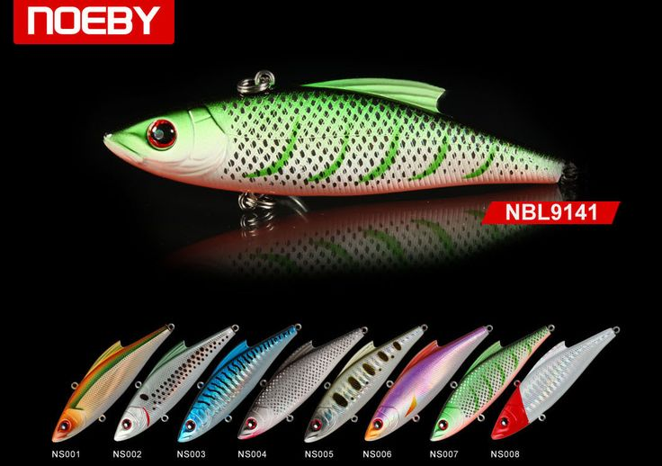 Vibe fishing lures are blade vertical jigging lures. Vibes are most effective when vertically jigged for walleye and bass. Wide range of variety in Noeby. Visit to avail discount coupon.