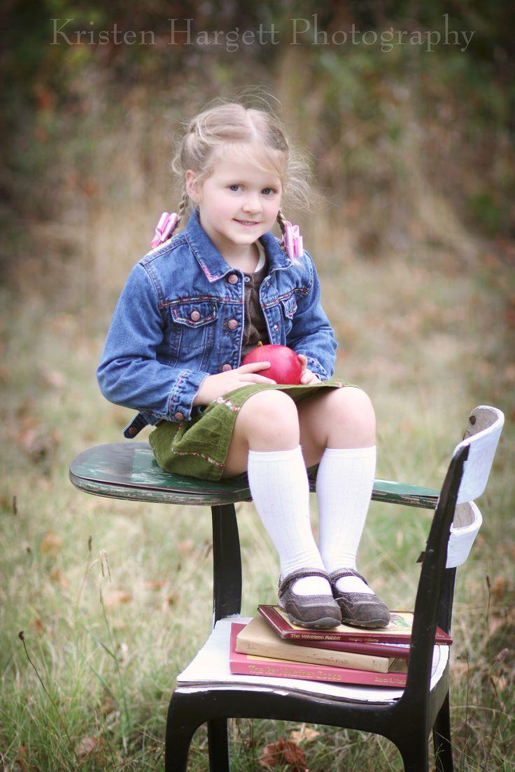 Kinder Garden: Back To School Photo Shoot: Kristen Hargett Photography