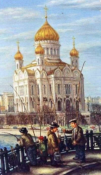 Художник Волков Сергей Васильевич.