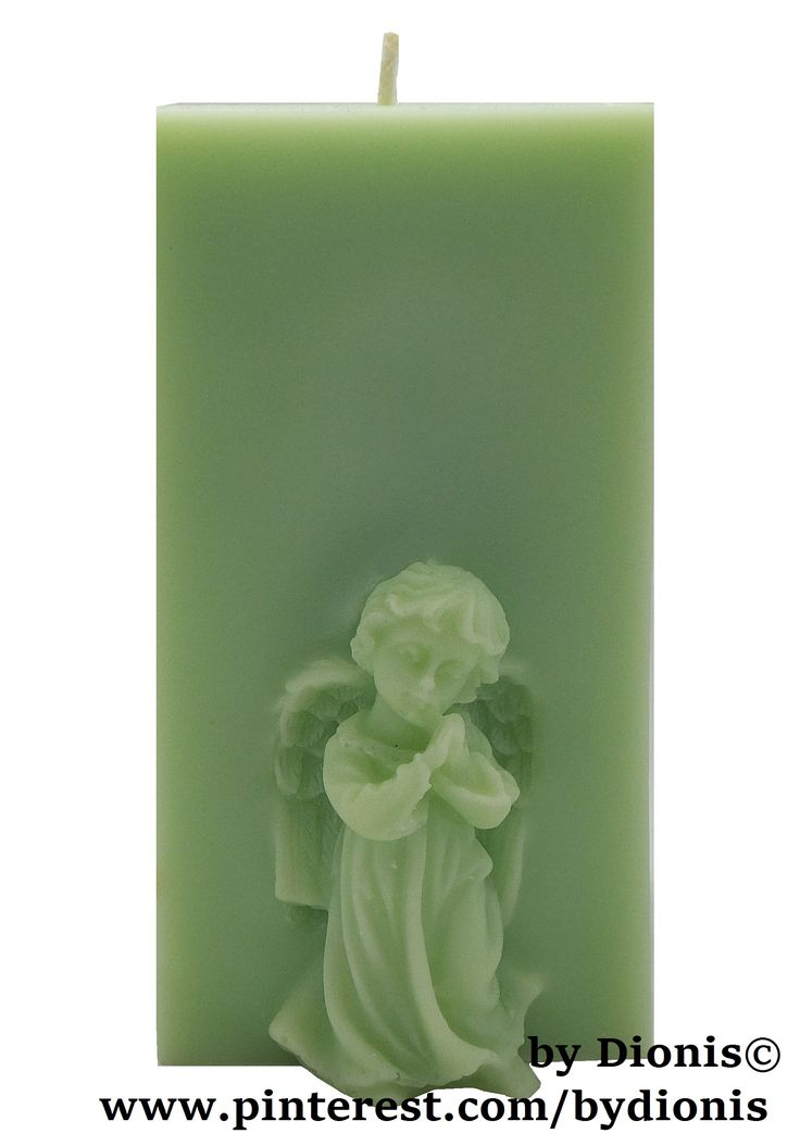 Свеча Ангел . Candle abgel Decor #candles #kerzen #bougie #candela #velas #angel #bydionis #decor