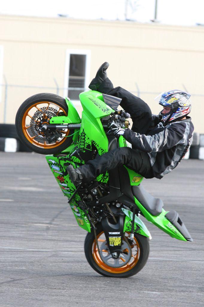 Stunt street bike
