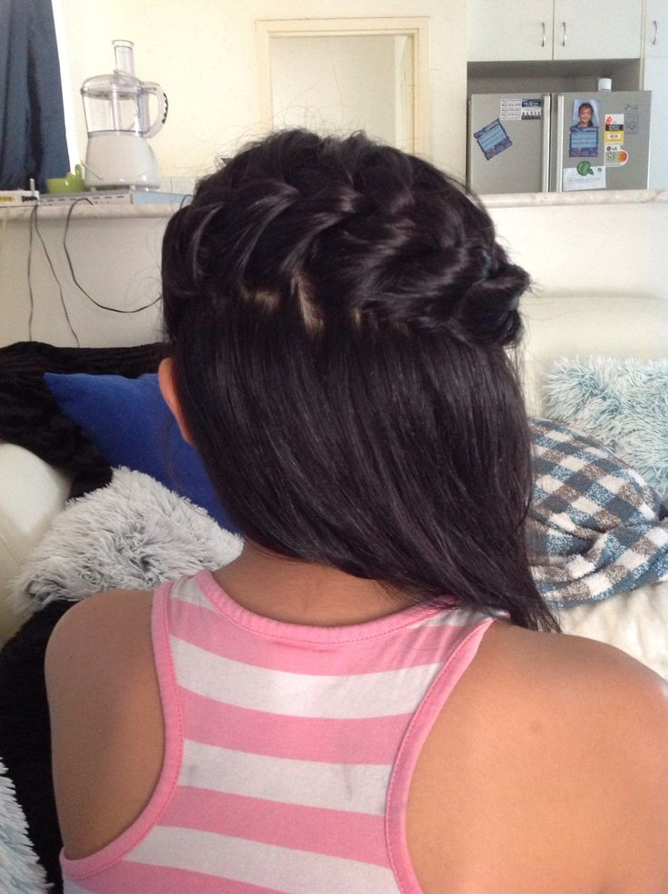 My sister did my hair and its amazing she is a hero