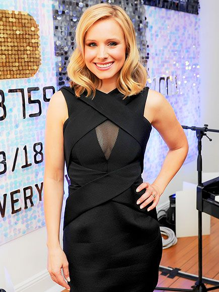 Star Tracks: Thursday, April 3, 2014 | 'EXPRESS' YOURSELF | Veronica Mars star Kristen Bell gets glam at the American Express #EveryDayMoments event on Wednesday in New York City.