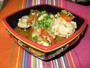 Chahohbili – Georgian Chicken Stew
