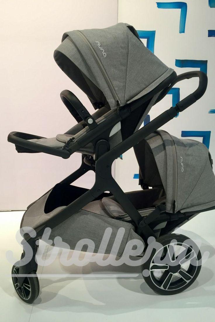 Nuna demi grow stroller in 2020 stroller double