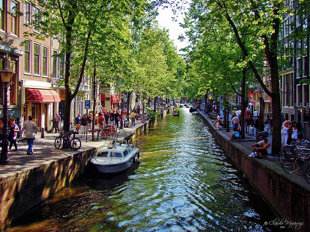 17th Century Canal Ring Area of Amsterdam. Last visited, 2012.