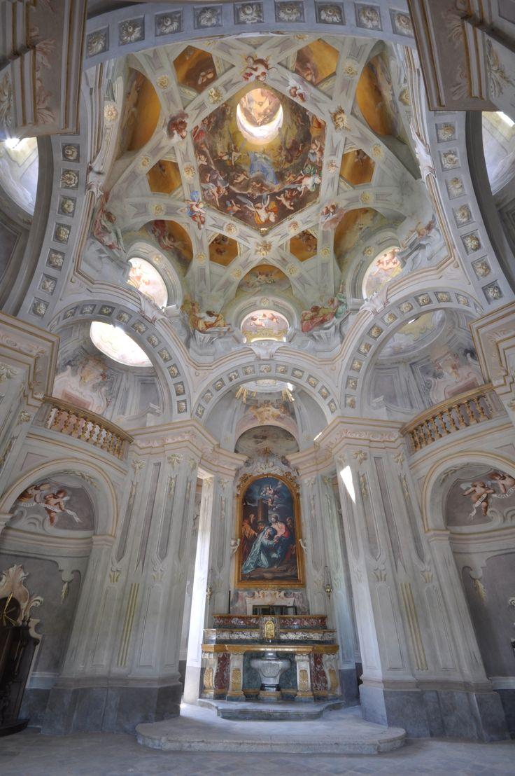 The Valinotto Sanctuary (XVIII C.) in Carignano-Torino-Piedmont-Italy after restauration (2016-2017)