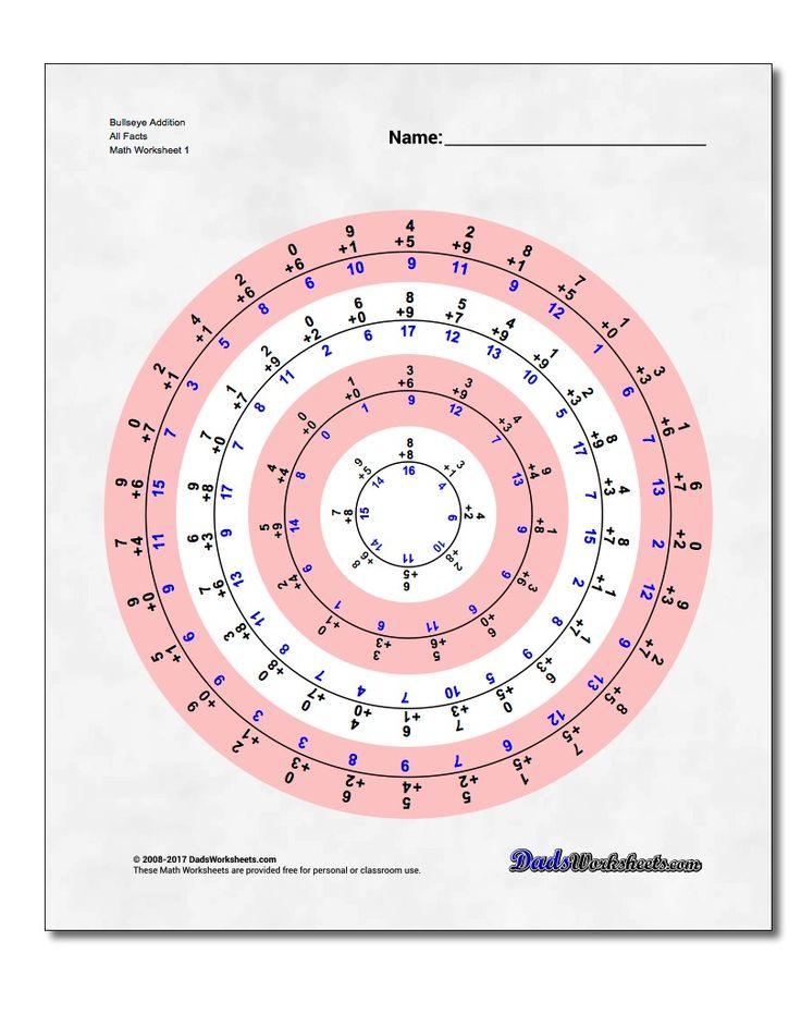 150 besten Addition Worksheets Bilder auf Pinterest   Mathematische ...