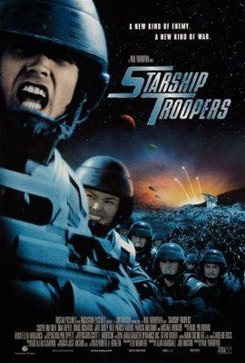 Starship Troopers (1997) movie #poster, #tshirt, #mousepad, #movieposters2