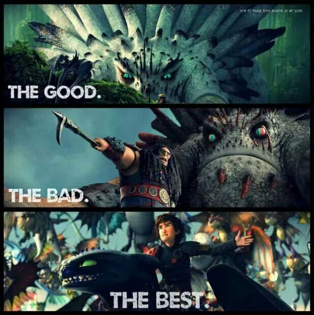 The good the bad and the best