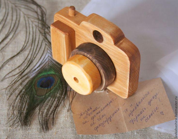 Купить Фотоаппарат деревянный_игрушка_подарок - игрушка, деревянная игрушка, фотоаппарат, зеркалка, зеркальный фотоаппарат, подарок, для фотосессий
