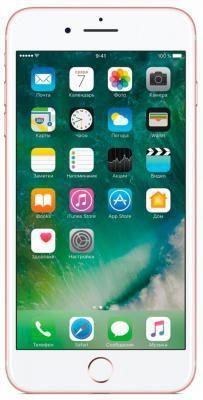 """Смартфон Apple iPhone 7 Plus розовое золото 5.5"""" 32 Гб NFC LTE Wi-Fi GPS 3G MNQQ2RU/A  — 67740 руб. —  Бренд: Apple, Операционная система: Apple iOS, Диагональ экрана: 5.5"""", Разрешение экрана: 1920x1080, Встроенная память: 32 Гб, Возможности: 3G, Цвет: розовое золото"""