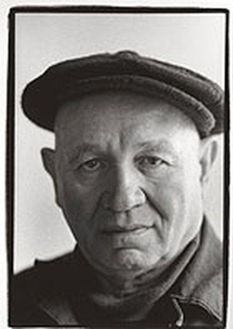 Artist Romare Bearden photographed by Frank Stewart