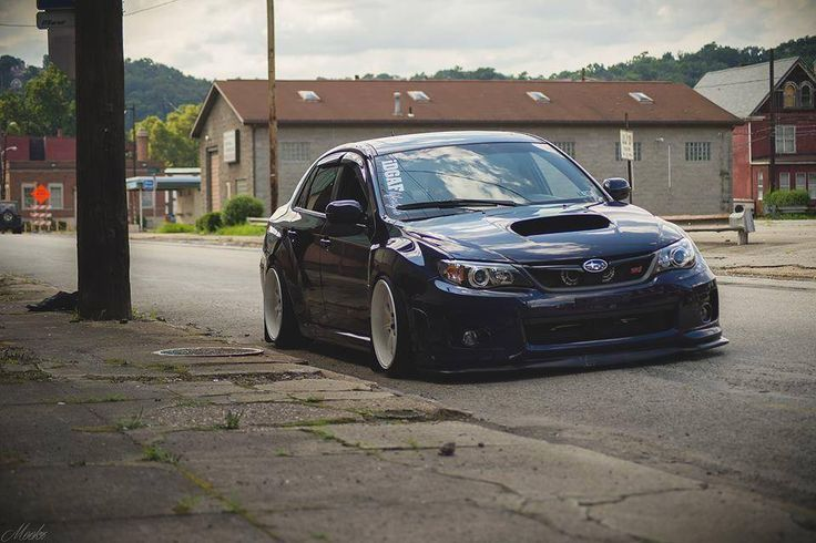 Stanced Subaru Visit www.rvinyl.com for the best #JDM #AutoAccessories & #AftermarketParts