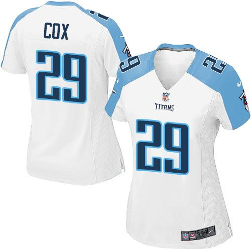 perrish cox womens elite white jersey nike nfl tennessee titans road 29