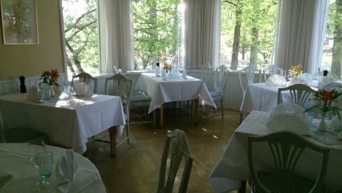 Lunch venue at Krapi